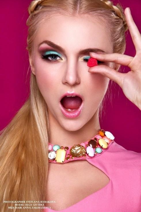 The stunning Olga Gittera!