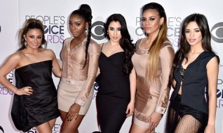 """Fifth Harmony Named Winner for """"Favorite Group"""" at the 2016 People's Choice Awards"""