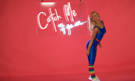 "Check Out Four Exclusive Photos from Tiffany Houghton's ""Catch Me If You Can"" Music Video Shoot"
