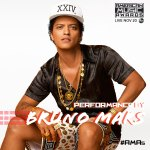 Bruno Mars to Open the 2016 American Music Awards