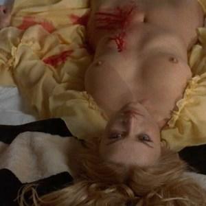 Barbara Bouchet in La Tarantola dal ventre nero