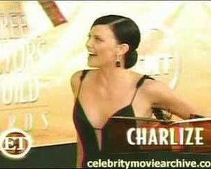 Charlize Theron in Entertainment Tonight