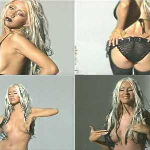Christina Aguilera in MTV Diary