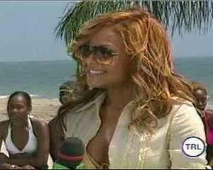 Christina Milian in MTV Beach House