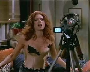 Debra Messing in Will & Grace