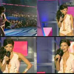 Eva Longoria in 2005 MTV Video Music Awards