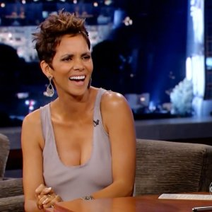 Halle Berry in Jimmy Kimmel Live