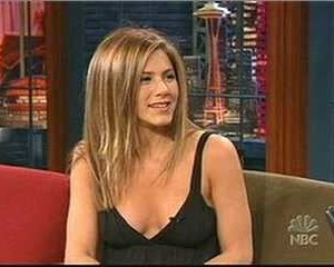 Jennifer Aniston in The Tonight Show with Jay Leno