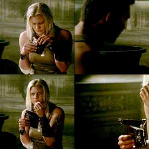 Katee Sackhoff in The Last Sentinel