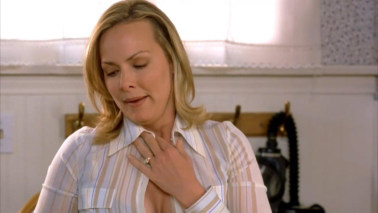 Woman has jan levinson boobs top
