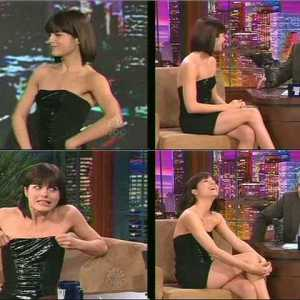 Selma Blair in The Tonight Show with Jay Leno