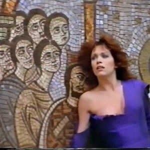 Tanya Roberts in Hearts Armour