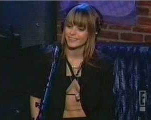 Taryn Manning in The Howard Stern Show
