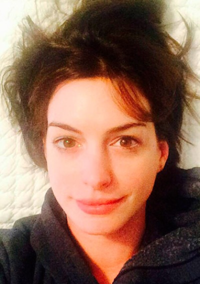 Anne Hathaway No Makeup | Celebrities Without Makeup Rosie Huntington Whiteley Lipstick