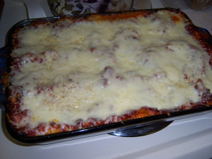 lasagna4 The Easiest Gluten free Lasagna Recipe!