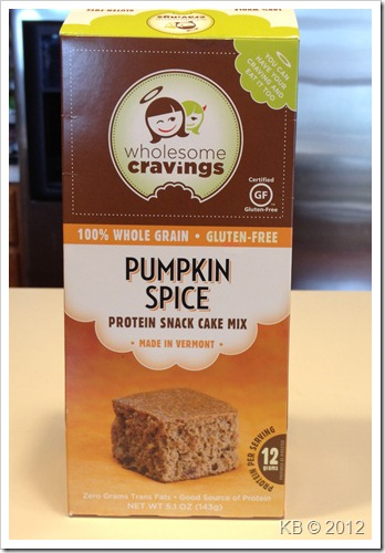 IMG 2451 thumb Review: Wholesome Cravings Pumpkin Protein Cake
