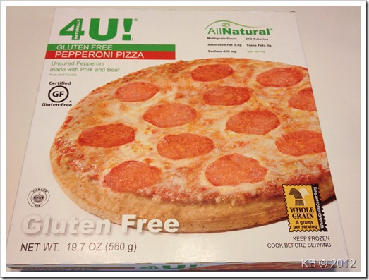 IMG 2911 thumb Review: Better 4U Foods Gluten Free Pizza