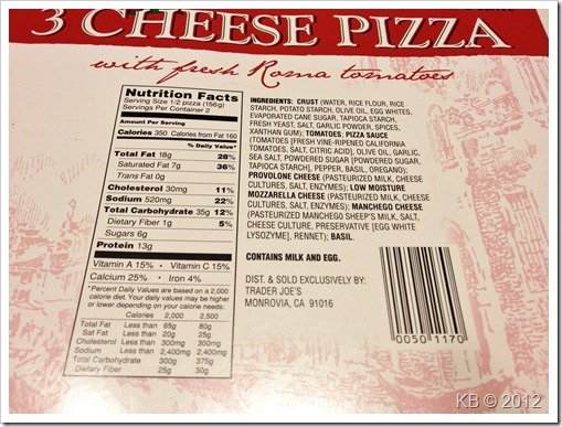 IMG 3433 thumb Review: Trader Joe's Gluten Free Pizza
