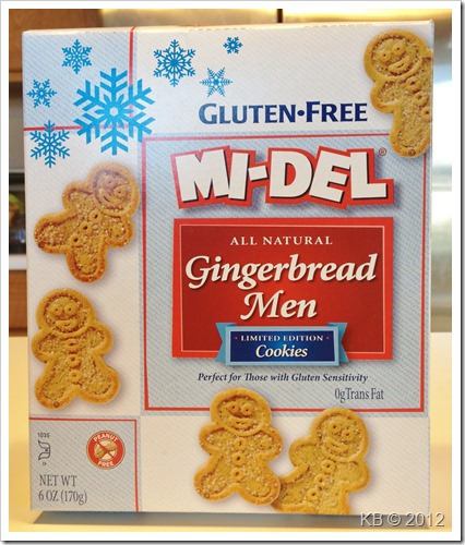 IMG 3474 thumb Review: MI DEL Gluten Free Gingerbread Men