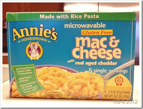 IMG 4032 thumb Review: Annie's Homegrown Microwavable Mac & Cheese
