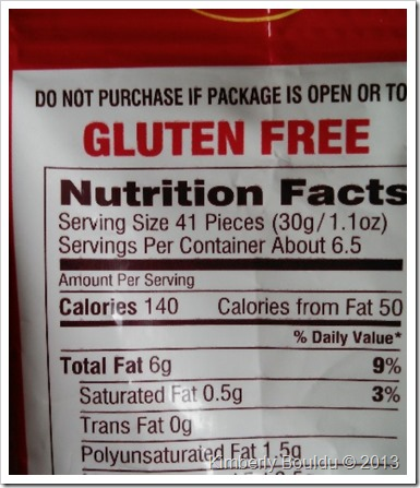 gfgfpic thumb Review: Gluten Free Pepperidge Farm Goldfish Puffs