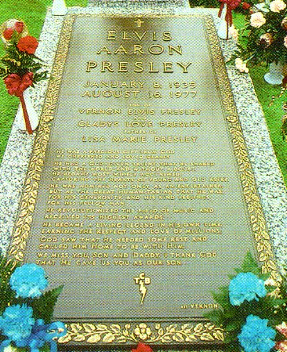 Cemetery of the Week #88: Elvis Presley's grave (2/2)