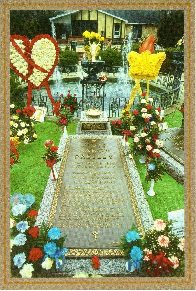 Cemetery of the Week #88: Elvis Presley's grave (1/2)