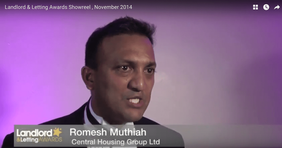 Romesh Muthiah, Co-Director of Central Housing Goup