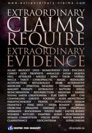 Extraordinary claims