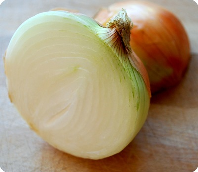 onion before