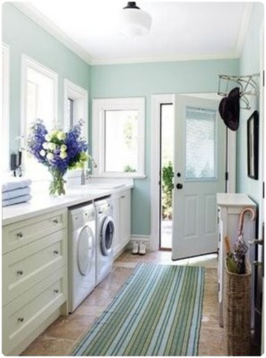 laundry room via houzz