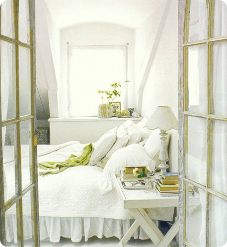 white room via simply seleta via madamecupcake tumblr