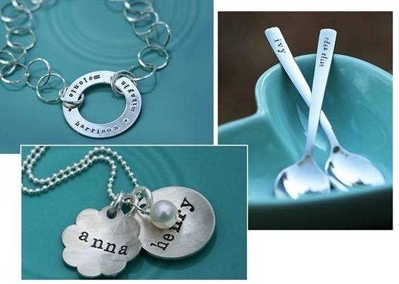 necklaces and spoons
