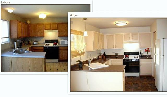 Rustoleum Countertop Paint On Formica : Nice upgrades! Way to work with what you?ve got, I say!