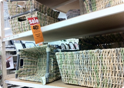 baskets at michaels