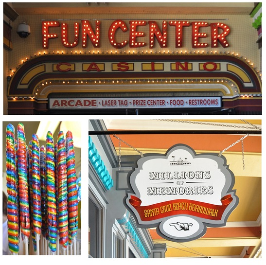 fun center collage