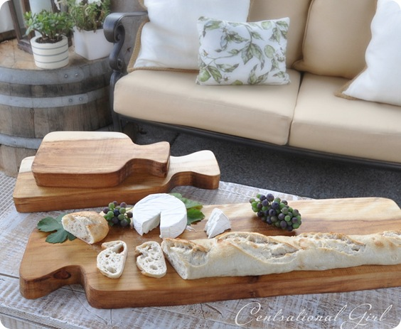 trio of wood cutting boards cg