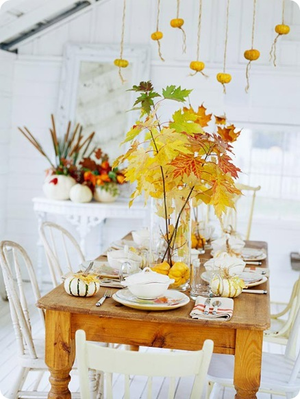 bhg fall leaves centerpiece