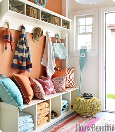 house beautiful mudroom