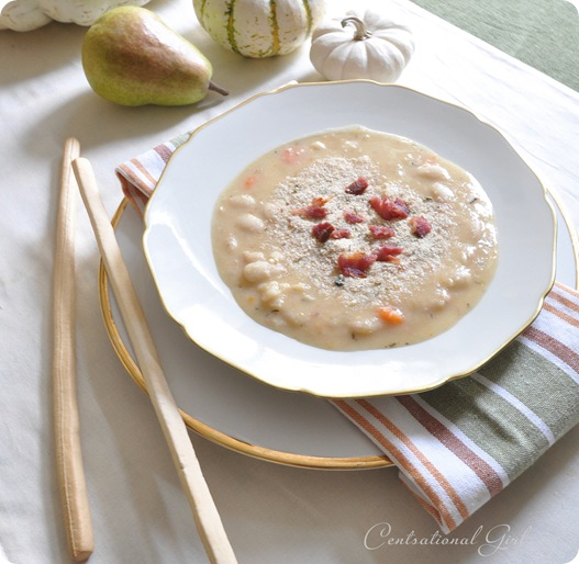 white bean with bacon soup cg