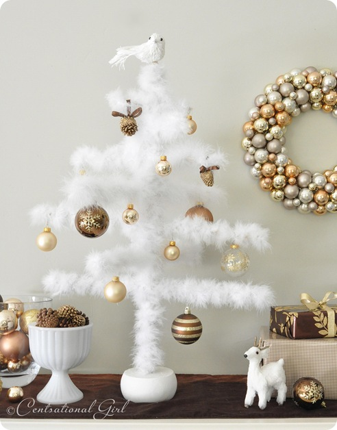 diy feather tree close up cg