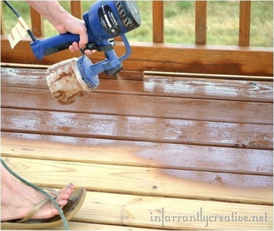 staining a deck infarrantly creative