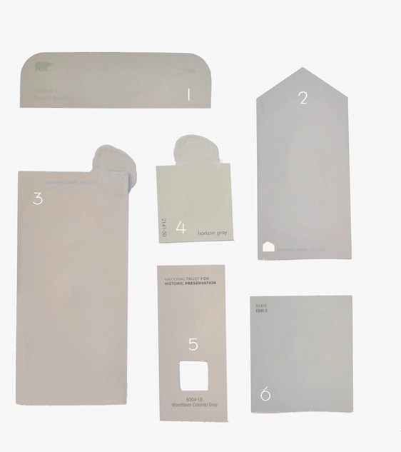 Warmer Gray paint colors