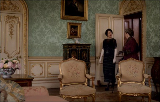 downton drawing room