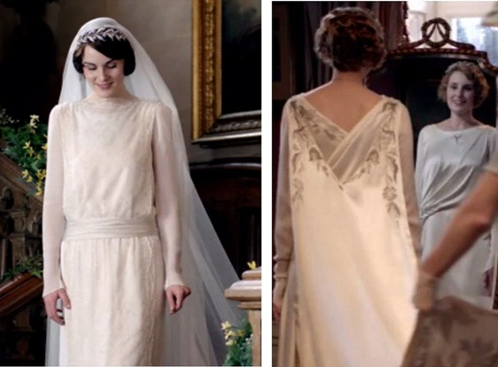 edith and mary gowns