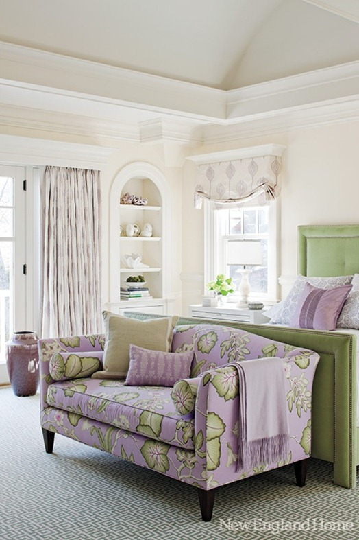 lavender and green bedroom nehomemag