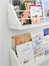 bracket bookshelves