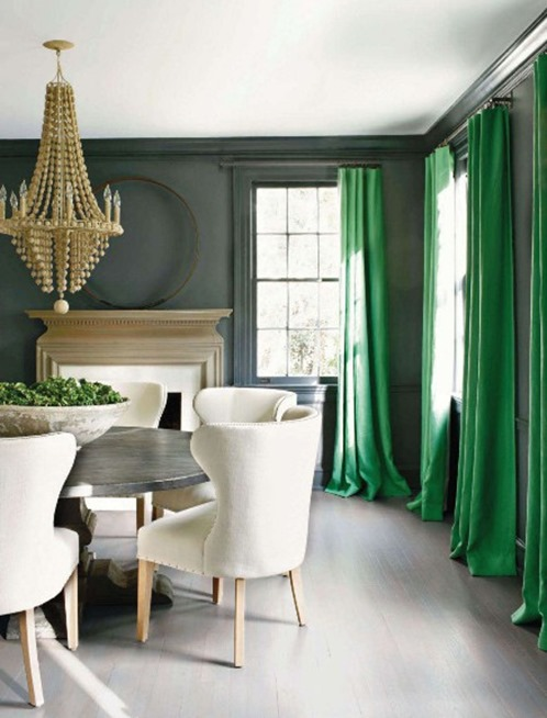 kay douglass veranda green curtains