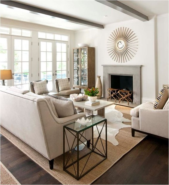 white layered neutral space