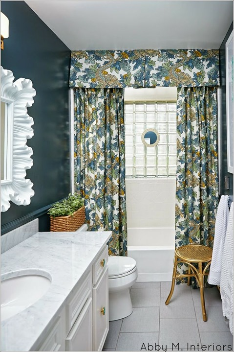 chic bathroom makeover abby m interiors